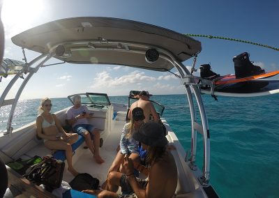 SWS Cayman wakeboard boat